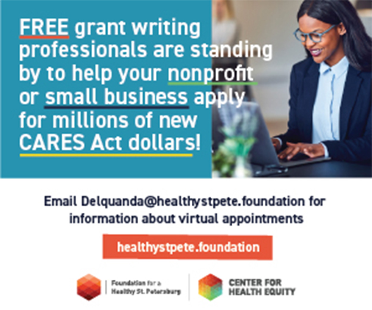 Free CARES Act grant writing assistance