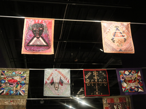 Basquiat, Purvis Young, Vodou flags at Tampa Museum of Art