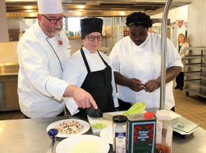 Mastering the art of cooking at PTC