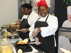 Cherish Williams is cooking up a career at PTC
