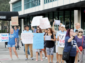 Activists, community members hold #CountEveryVote rally in St. Pete