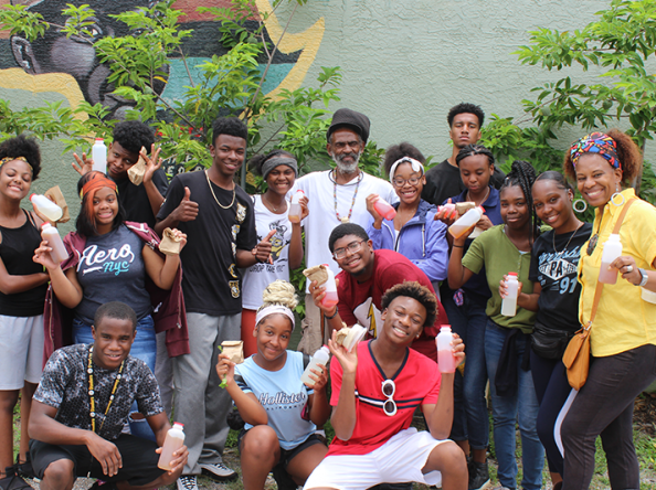 Youth Farm growing gardens and entrepreneurs