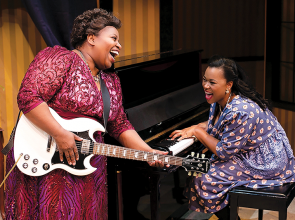 Gospel, rock and roll, R&B innovator Sister Rosetta Tharpe examined in musical evening at freeFall Theater