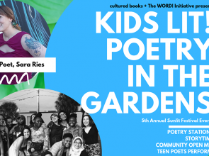 Cultured Books and The W.O.R.D. Initiative host Kids Lit! in the Gardens