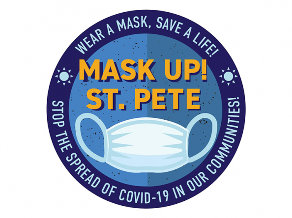 MASK UP! ST. PETE distributes 2000 masks during first campaign event