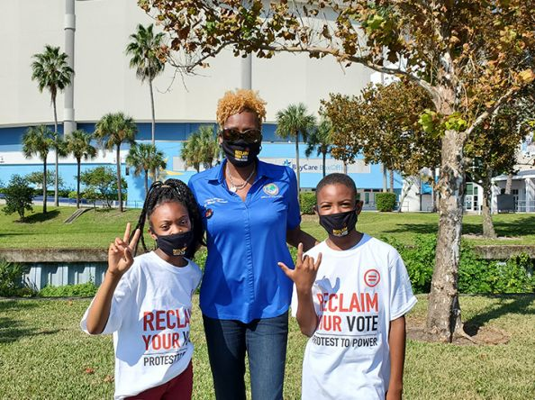 Roll to the Polls Hosts Successful Get Out the Vote Event in St Petersburg