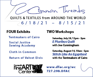 Dunedin Fine Art Center Quilts and Textiles from Around the World